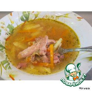 Рецепт Суп из молодого петушка