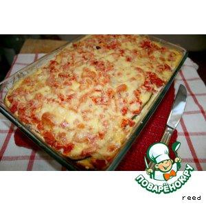 Рецепт Запеканка из баклажанов и помидоров