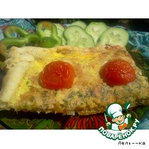 Рецепт Пирог с тунцом