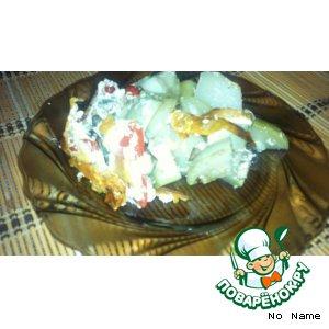 Овощная запеканка рецепт с фотографиями пошагово