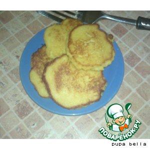 Рецепт Кукурузные лепешки
