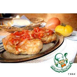 Рецепт Котлеты в панировке из кунжута и сыра
