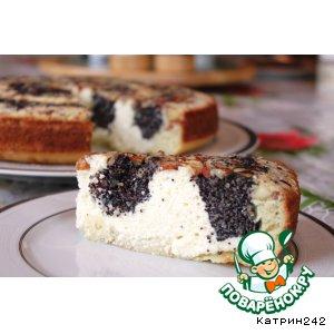 Рецепт Творожно-маковый пирог