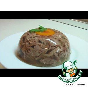 Рецепт Холодец свиной