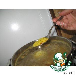 Рецепт Супчик с фрикадельками