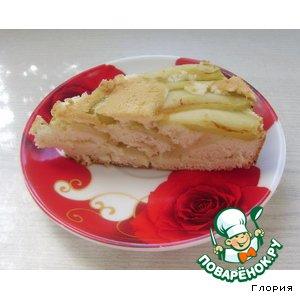 Рецепт Шарлотка  (еще один рецепт на тему - яблочный пирог)