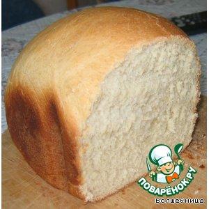 Рецепт: Хлеб с цельнозерновой мукой