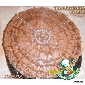 Тыквенный торт вкусный пошаговый рецепт приготовления с фото готовим