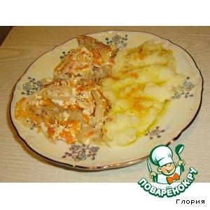 Сочная рыбка, запеченная с овощами пошаговый рецепт приготовления с фото как готовить