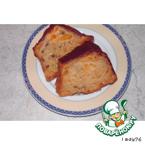 Рецепт Кекс с тыквой и кедровыми орешками