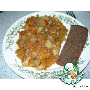 Рецепт Овощное рагу по-быстрому