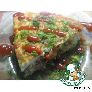 "Рецепт ""Хозяюшка"" -  мусака  (картофельная запеканка)"