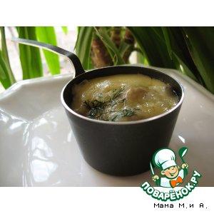 Рецепт Жюльен из грибов и баклажанов