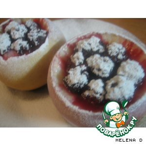 "Рецепт ""Яблоки на снегу"" -  десерт"