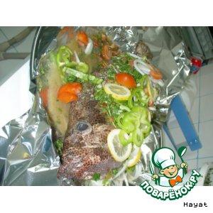 """Рецепт Рыба в духовке """"Самаки харра"""""""