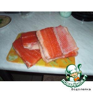 Рецепт Соленая рыбка