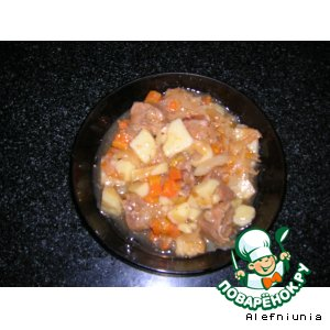 Как приготовить Телятина с овощами вкусный рецепт приготовления с фотографиями пошагово