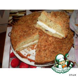 Рецепт Яблочный пирог с лесным орехом