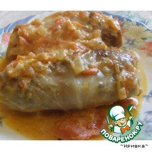 Рецепт Голубцы по-сибирски