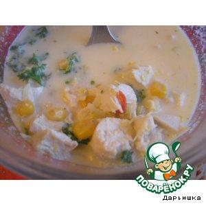 Рецепт Мексиканский кукурузный суп