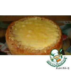 Рецепт Запеканка в хлебе