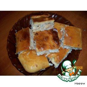 Рецепт Сибирский рыбный пирог из щуки