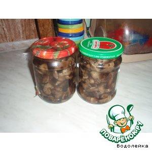Рецепт Маринованные грибы