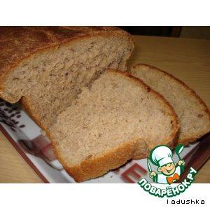 Рецепт Хлеб картофельный из ржаной муки и с тмином