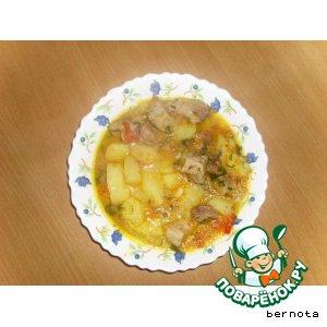 Рецепт Картошка  с мясом