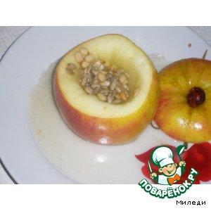 """Рецепт Печеное яблочко """"Здоровый десерт"""""""