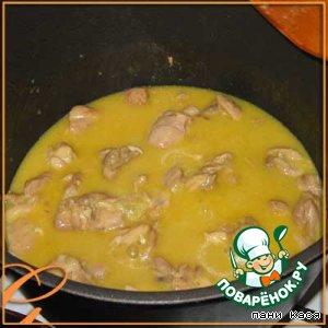 Апельсиновая курица домашний пошаговый рецепт приготовления с фото на Новый Год