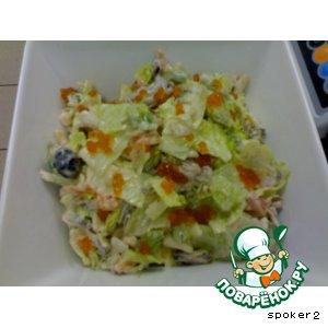 Рецепт Салат из морепродуктов 101