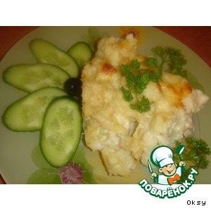 Рецепт Запеканка из цветной капусты с макаронами