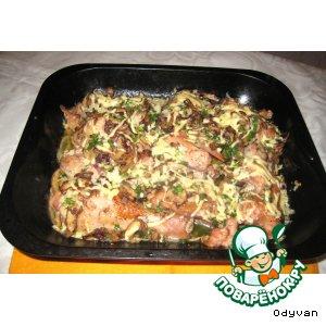 Курица «Волшебный остров» простой пошаговый рецепт с фото