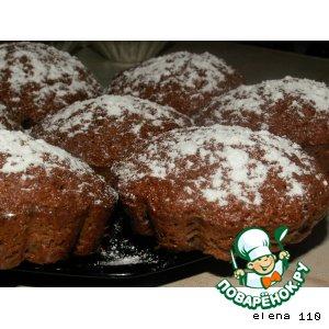 Рецепт Шоколадно-маковые кексы