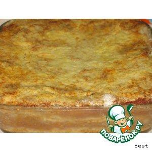 Рецепт Яблочные пирожные с манкой