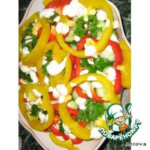 Рецепт Крабовый слоеный салат