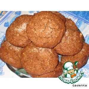 Рецепт Шоколадно-ореховое печенье с горчицей