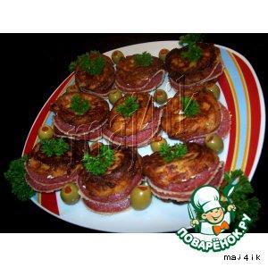 Рецепт Заварные пончики с начинкой