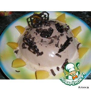 Рецепт Сливочно-шоколадный десерт