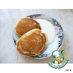 Рецепт Оладушки на скорую руку
