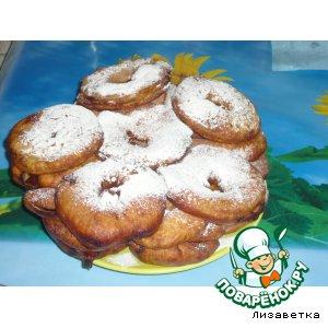 """Рецепт Яблочные пончики """"Вкуснющие"""""""