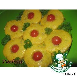 Рецепт Мясные оладушки с ананасом