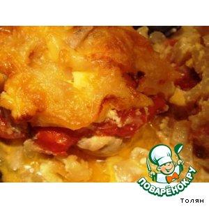 Мясо «под шубой» вкусный пошаговый рецепт приготовления с фото