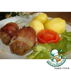 """Рецепт """"Ленивые"""" мясные колбаски"""