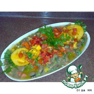 Рецепт «Фуль  мдаммас» , горячий салат из бобов по-дамасски