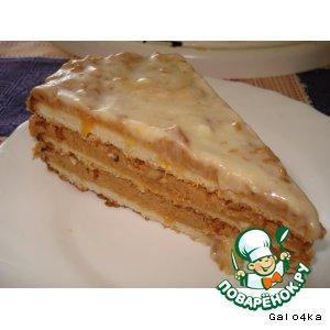 """Рецепт Торт """"Сахара"""""""