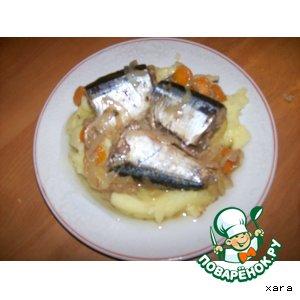 Рецепт Морская рыба в масляно-уксусном соусе