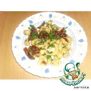 Рецепт Макароны чили с  сушеными помидорами