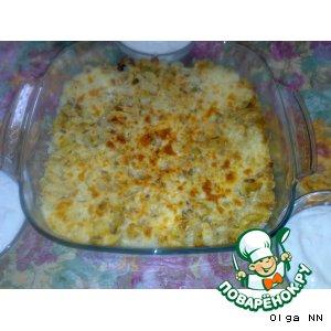 Рецепт Рисово-грибная запеканка